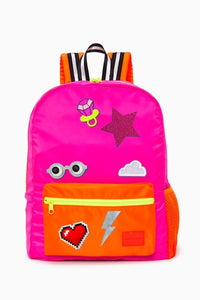 Neon Pink Backpack / Neighborhood Goods