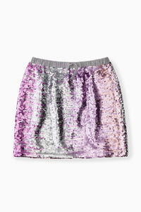 Ombre Shimmer Flip Sequin Skirt / Neighborhood Goods