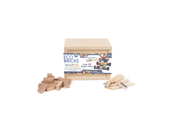 Once Kids Eco-bricks 24 Piece 10 Color Pencils / Neighborhood Goods