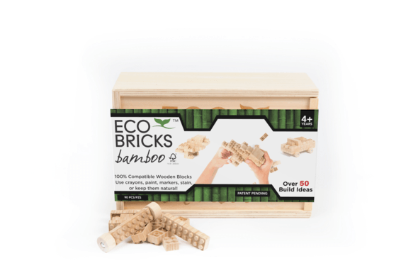 Once Kids Eco-bricks 90 Piece Bamboo / Neighborhood Goods