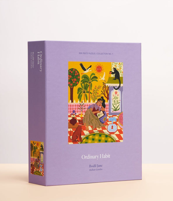 Ordinary Habit Indian Garden by Bodil Jane Puzzle / Neighborhood Goods