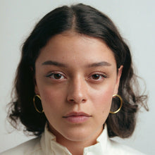 Load image into Gallery viewer, Raven + Lily Aida Large Hoops / Neighborhood Goods