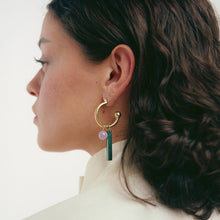 Load image into Gallery viewer, Raven + Lily Aida Open Hoop Earrings / Neighborhood Goods