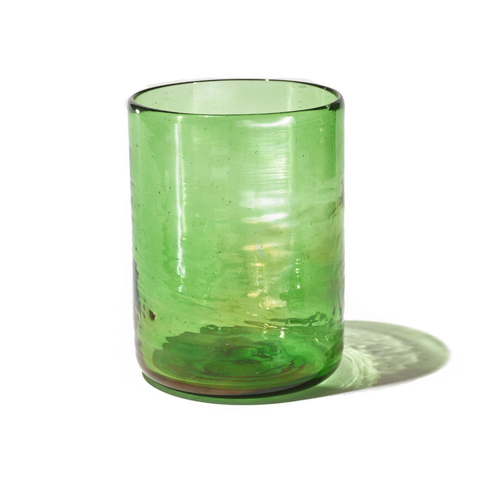 Raven + Lily Anselm Recycled Glass Green Tumbler / Neighborhood Goods