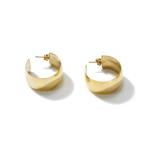Raven + Lily Diaz Large Hoops / Neighborhood Goods