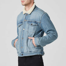 Load image into Gallery viewer, Sherpa Denim Jacket / Neighborhood Goods