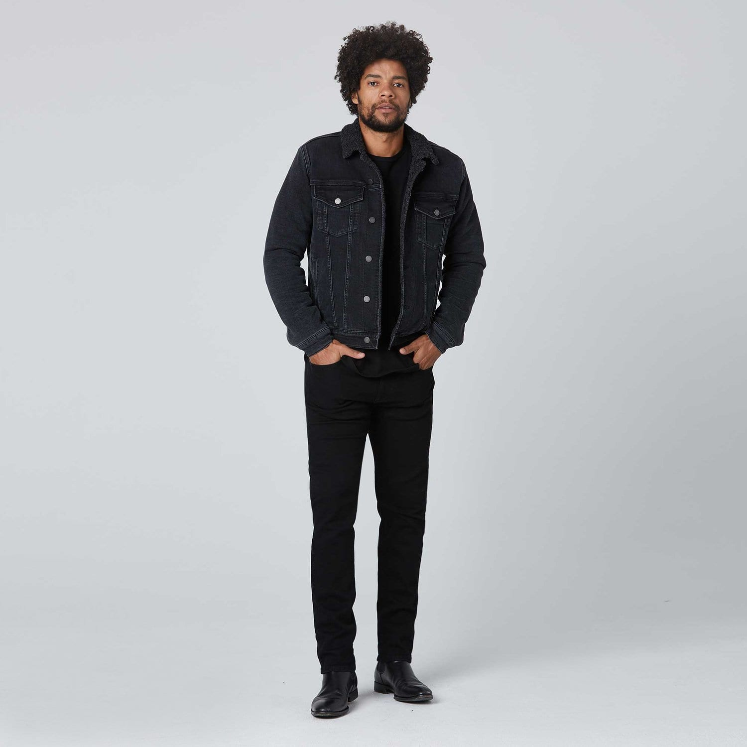 Sherpa Denim Jacket / Neighborhood Goods