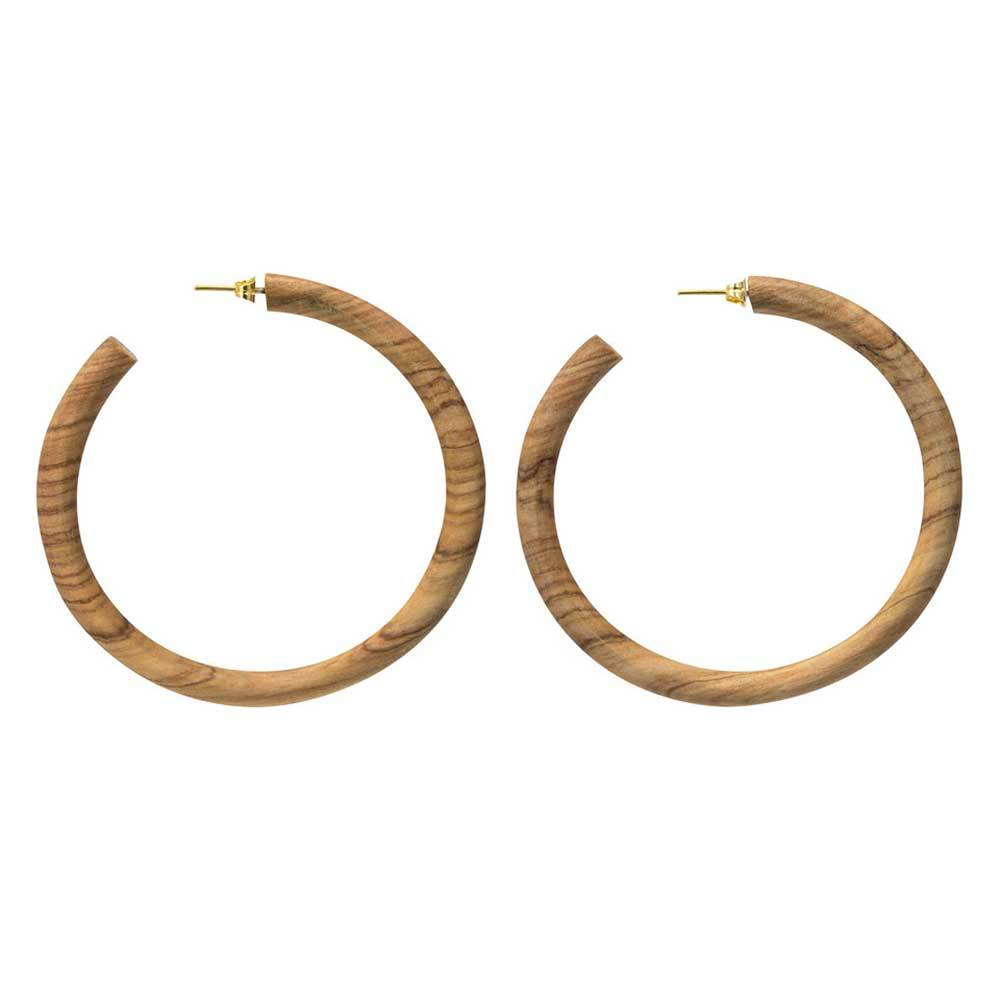 SOKO Arlie Maxi Wood Hoops / Neighborhood Goods
