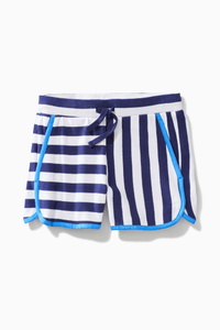 Striped Dolphin Hem Short / Neighborhood Goods