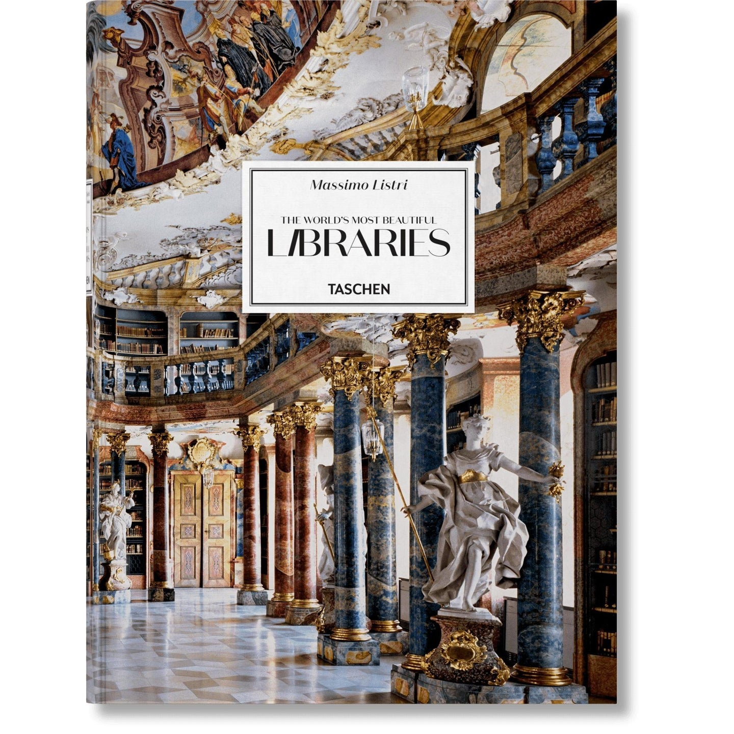 Taschen Massimo Listri. The World's Most Beautiful Libraries / Neighborhood Goods