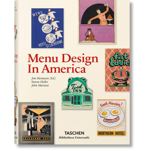 Taschen Menu Design in America / Neighborhood Goods