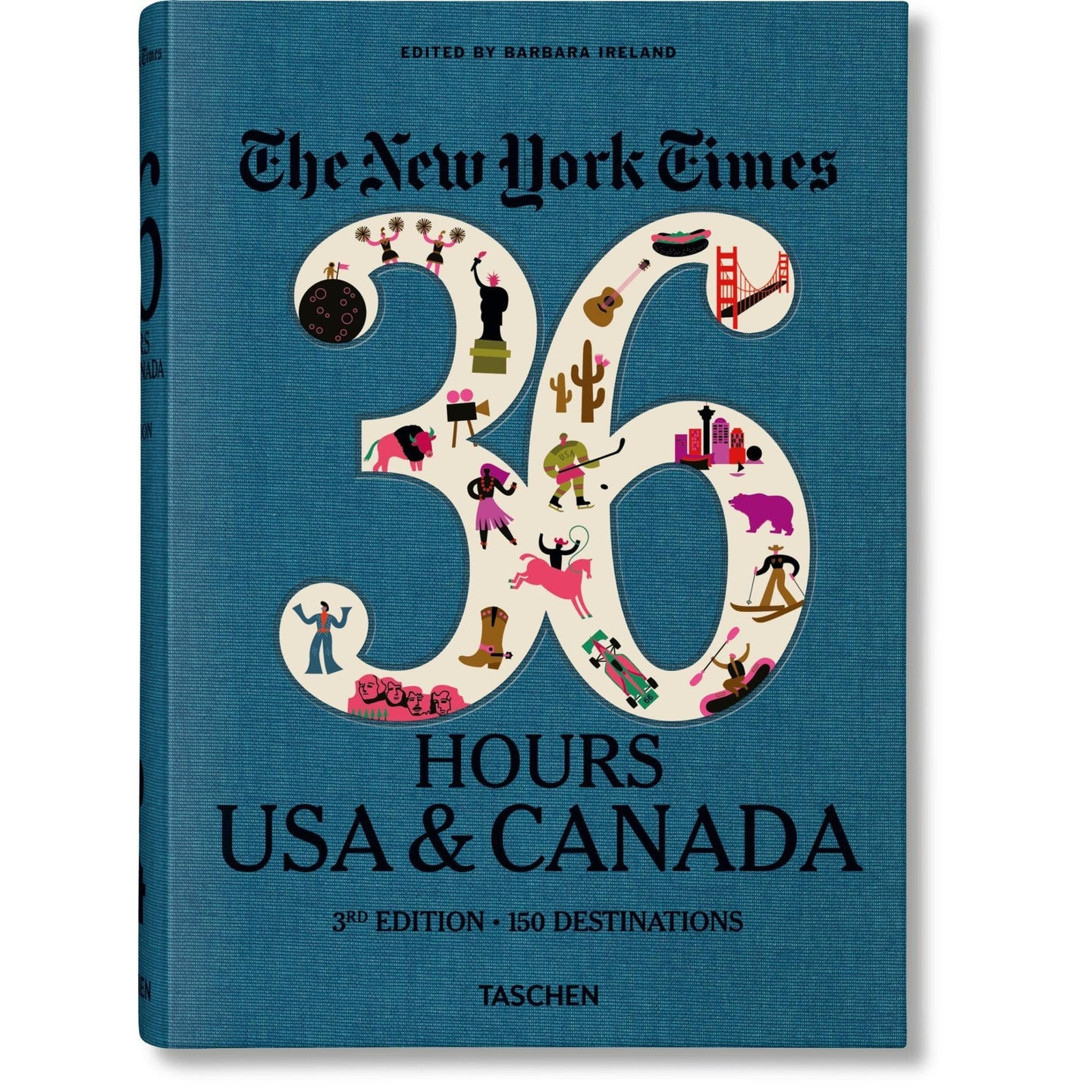 Taschen NYT. 36 Hours. USA & Canada. 3rd Edition / Neighborhood Goods
