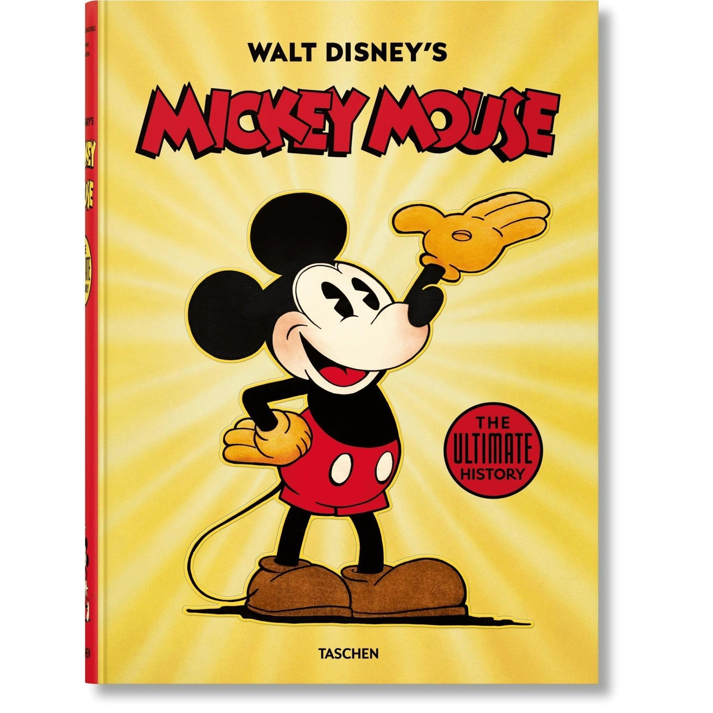 Taschen Walt Disney's Mickey Mouse - The Ultimate History XXL / Neighborhood Goods