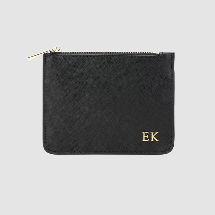 The Daily Edited Black Mini Structured Pouch / Neighborhood Goods