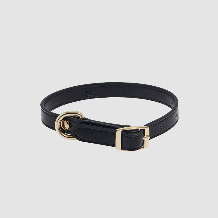 The Daily Edited Black Small Dog Collar / Neighborhood Goods