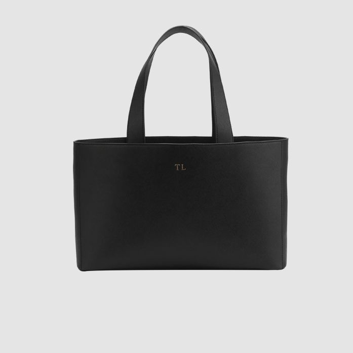 The Daily Edited Black Wide Tote / Neighborhood Goods