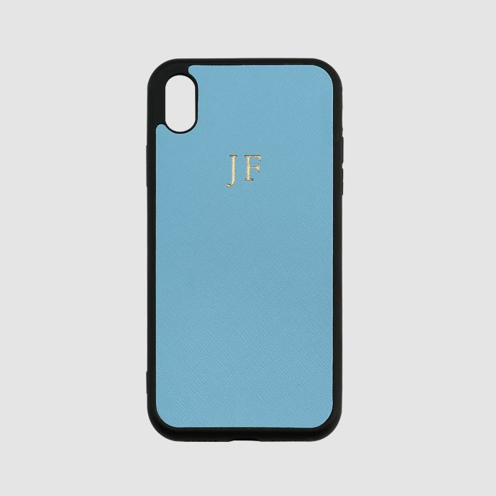The Daily Edited Iceberg Blue iPhone XS Max Case / Neighborhood Goods