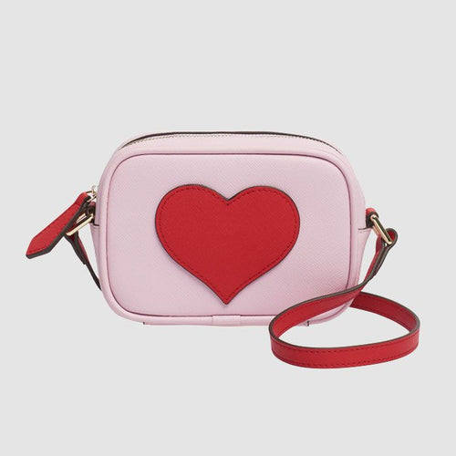 The Daily Edited TDE Mini Lilac Heart Cross Body Bag / Neighborhood Goods