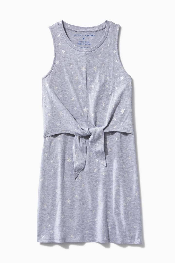 Tie Front Tank Dress / Neighborhood Goods
