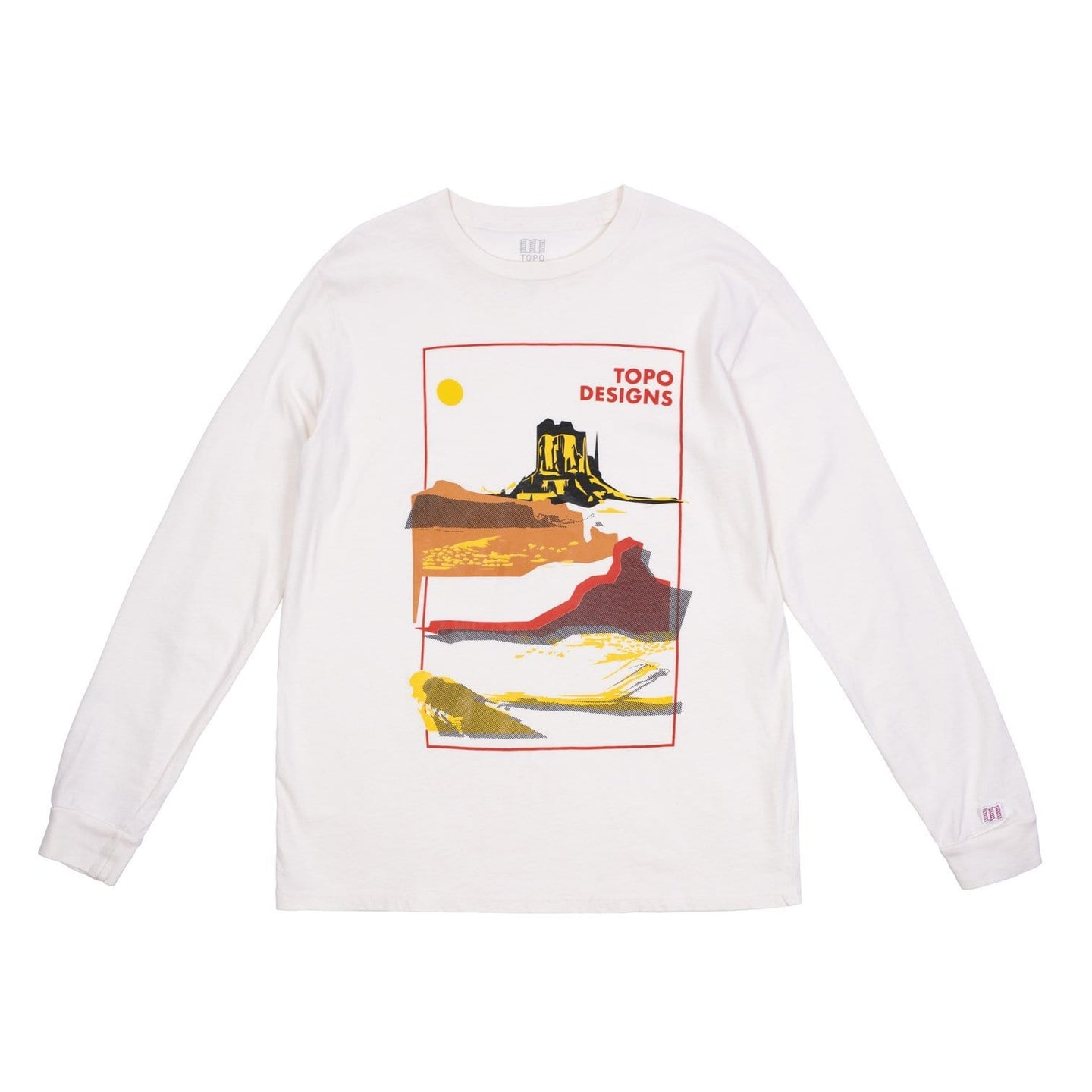 Topo Designs Moab Tee L/S / Neighborhood Goods