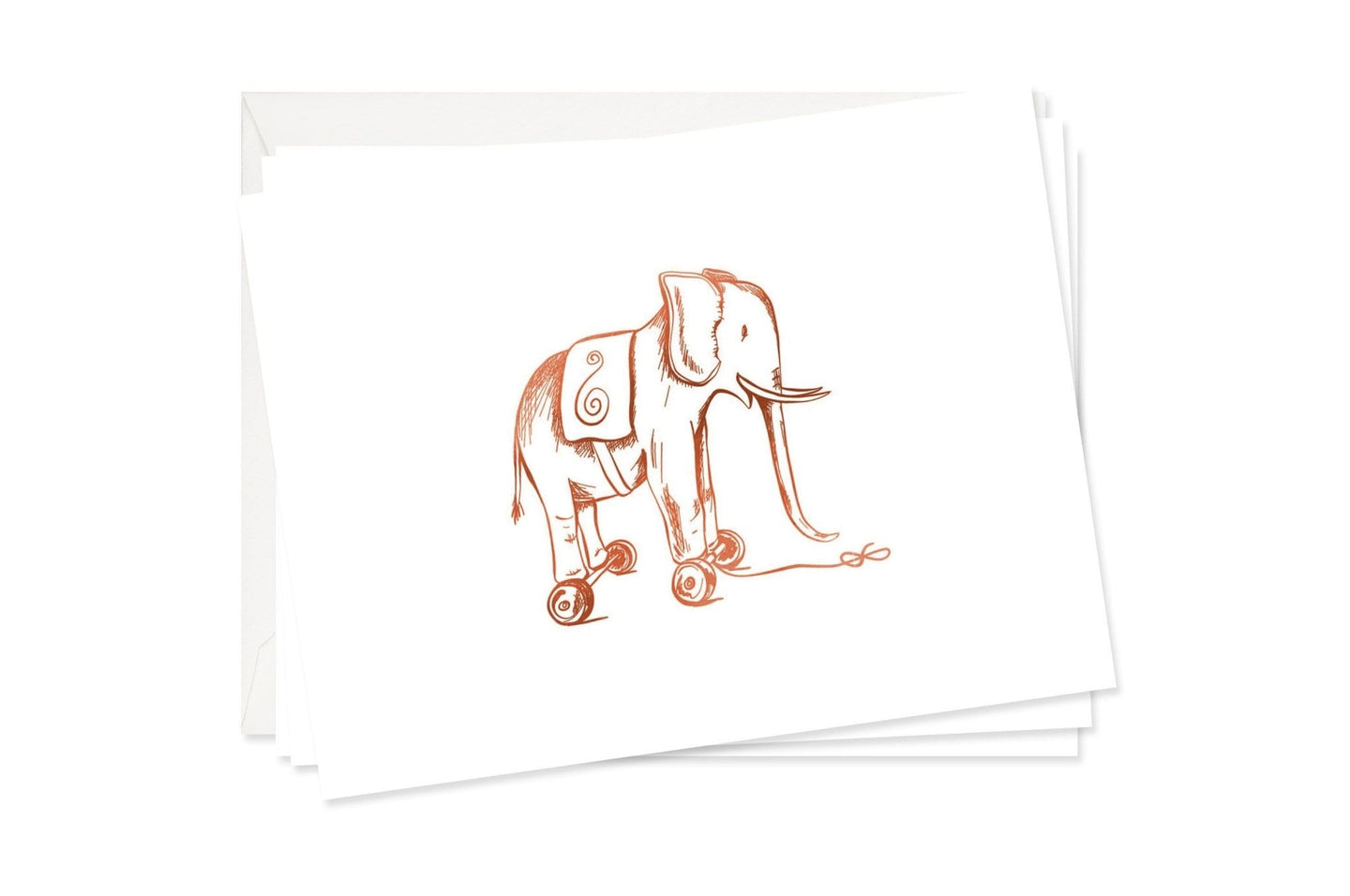 Toy Elephant Stationery Set / Neighborhood Goods