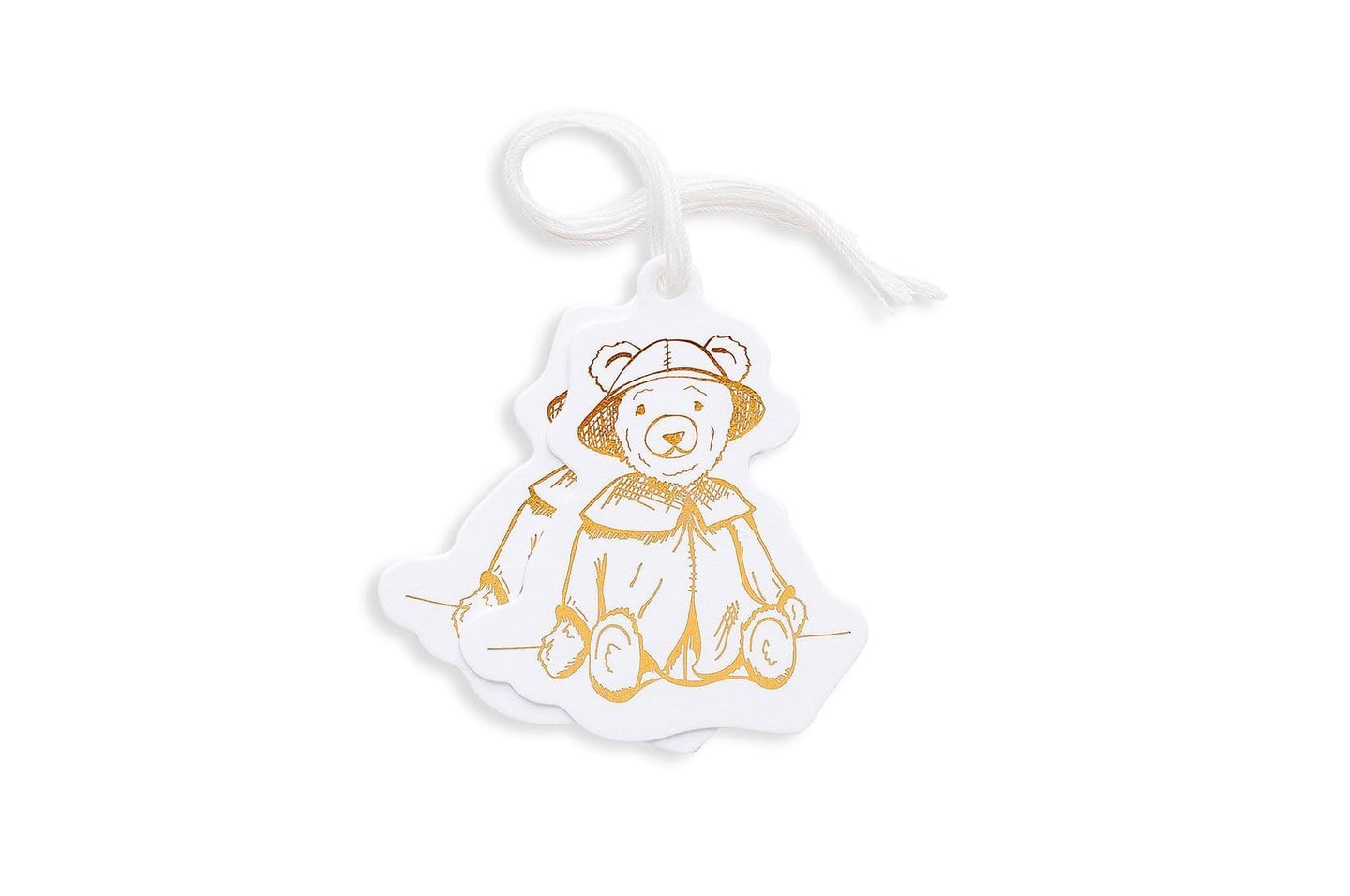 Toy Teddy Set Die Cut Gift Tags / Neighborhood Goods