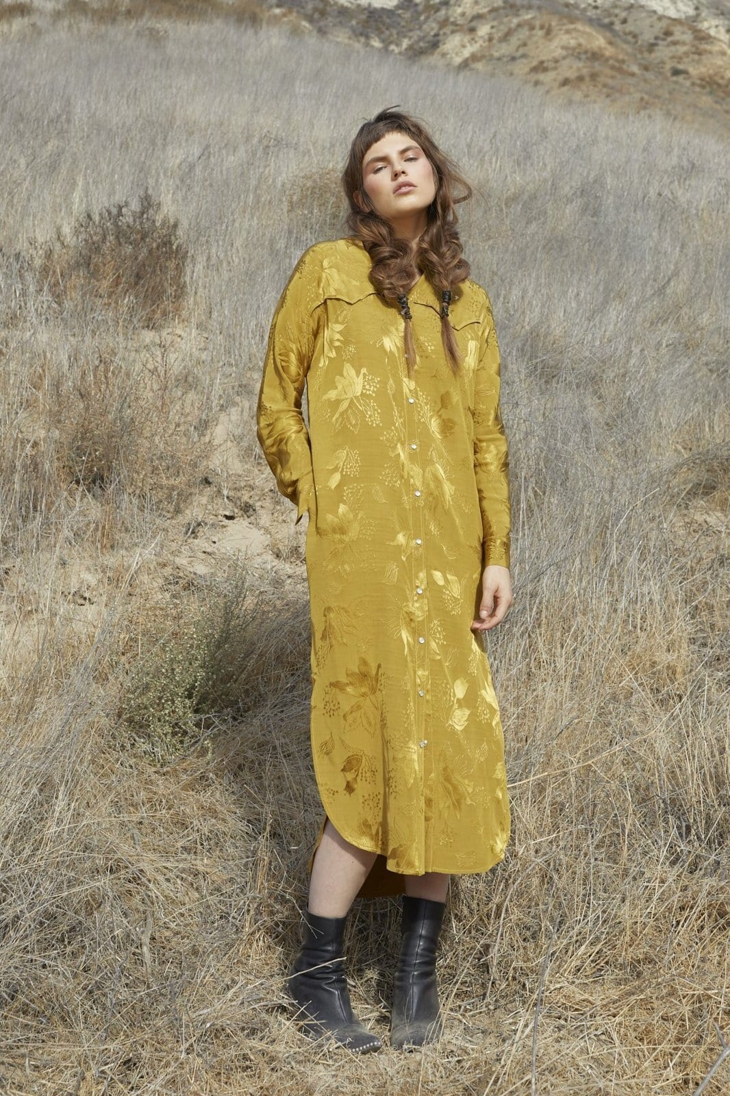 Western Willie Shirt Dress / Neighborhood Goods