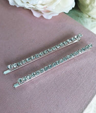 2-PIECE DIAMOND HAIR PINS