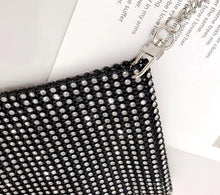 RHINESTONE SHOULDER MINI BAG