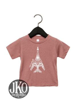 Under the Same Sky  T-Shirt. Mauve. YOUTH& TODDLER ( avail in all AF airframes)