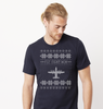 AC-130W Cross Stitch Tshirt  -2019 Design [2 Colors Avail.]