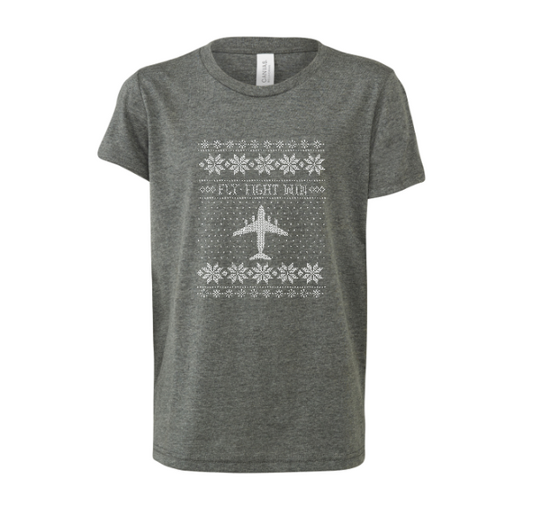 C-17  Cross Stitch T-shirt  -2019 Design [3 Colors Avail.]