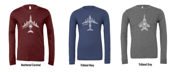 Under the Same Sky  Mandala - LONG SLEEVE ( Avail. in all airframes)