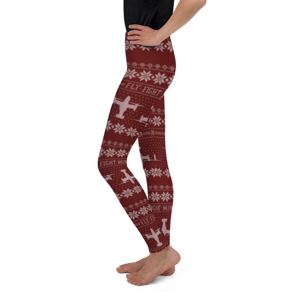 CV-22 Cross Stitch Toddler & Youth  Leggings -2019 Design [3 colors avail]