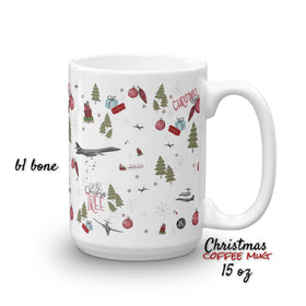 2018 Christmas coffee mug. B1