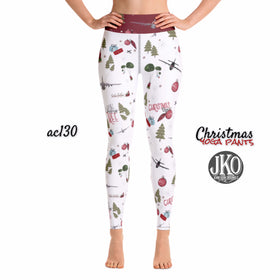 2018 Christmas Yoga Pants- AC130