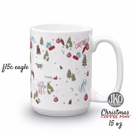 2018 Christmas coffee mug. F15c