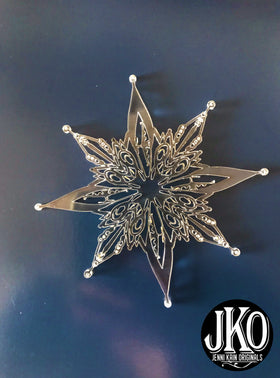 Snowflake Ornament:  C-17