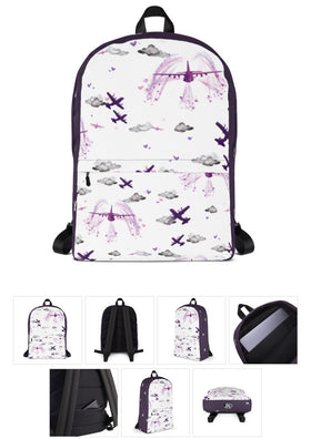AC130 Backpack. Purple