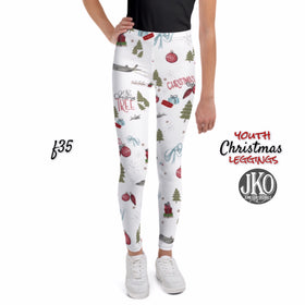 2018 Christmas Leggings ( toddler and youth)- F35