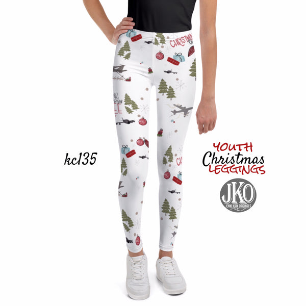2018 Christmas Leggings ( toddler and youth)-KC135