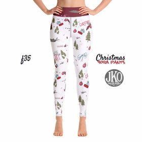 2018 Christmas Yoga Pants- F35