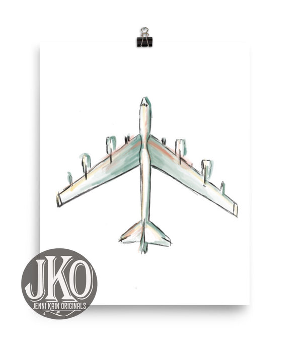 B52 Color Print-Unframed (matte)