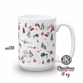 2018 Christmas coffee mug. AC130