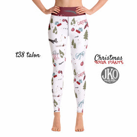 2018 Christmas Yoga Pants- T38