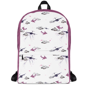 C17 Backpack. Pink