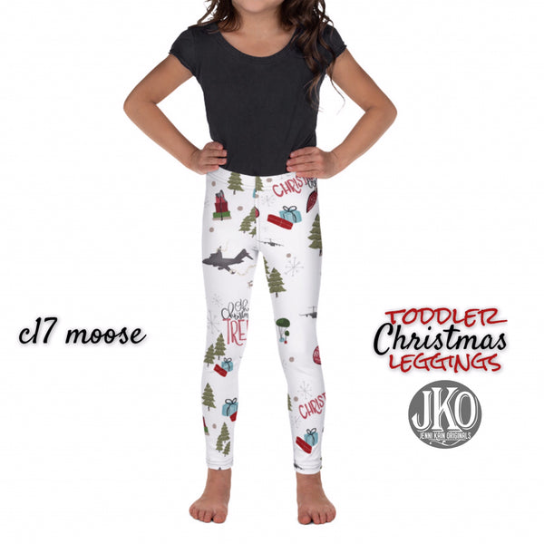 2018 Christmas Leggings ( toddler and youth)- C17