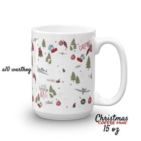 2018 Christmas coffee mug. A10