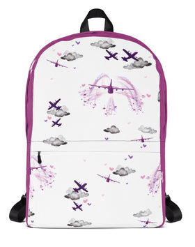 C130j Backpack. Pink
