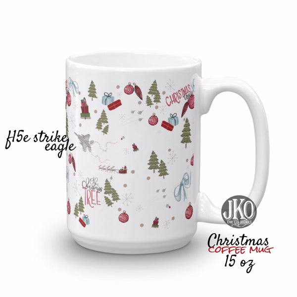2018 Christmas coffee mug. F15e